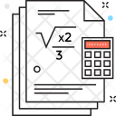 Mathematics Lesson Icon