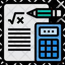 Maths Education Calculator Icon