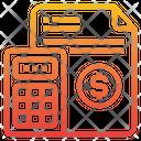 Calculator Maths Money Icon