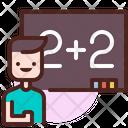 Maths Class Learn Online Class Icon
