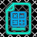 Maths Document Icon