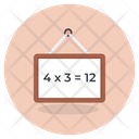 Maths Education Maths Lecture Writing Board Icon