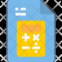 Maths File Icon