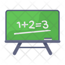 Maths Lecture Lesson Maths Education Icon