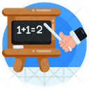 Maths Presentation Maths Lecture Mathematics Class Icon