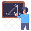 Maths Teacher Icon