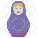 Art Toy Matreshka Icon