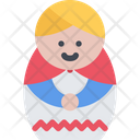 Matrioshka Doll Matryoshka Icon