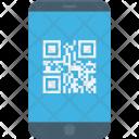Matrix Code Mobile Icon