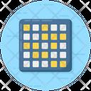 Matrix Diagram Chart Icon