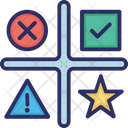 Star Matrix Opportunities Icon