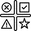 Star Matrix Opportunities Icon