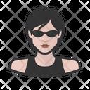 Matrix Trinity Avatar User Icon