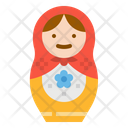 Matryoshka Doll Russian Icon