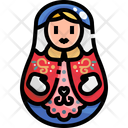 Matryoshka Matryoshka Matryoshka Doll Icon