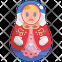 Matryoshka Doll Russian Doll Icon