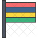 Mauritius African Country Icon