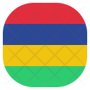 Mauritius National Country Icon