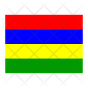 Mauritius Flag Flags Icon