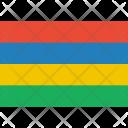 Mauritius Flag World Icon