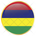 Mauritius Famous Country Icon