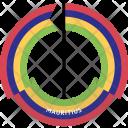 Mauritius Country Flag Icon