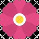 Mauve Flower Icon
