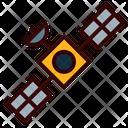 Maven Spaceraft Orbiter Satellite Icon