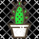 Maverick Cactus Succulent Icon