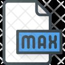 Max File Design Icon