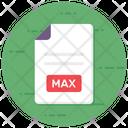 Max Max File Max Extension Icon