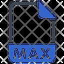 Max Document File Icon