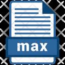Max File Formats Icon