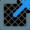 Maximize Window Arrow Icon