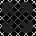 Full Screen Maximize Icon