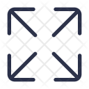 Maximize Resize Interface Icon