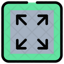 Fit Full Maximize Icon