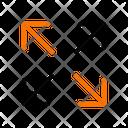 Maximize Fullscreen Sign Icon