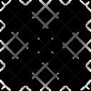 Maximize Fullscreen Arrows Icon
