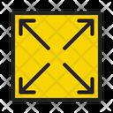 Maximize Fullscreen Expand Icon