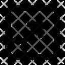 Maximize Arrow Drag Icon