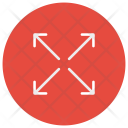 Maximize Full Arrows Icon