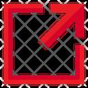 Maximize Squre Pointer Icon