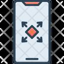 Maximize Phone Expand Icon