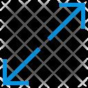 Arrow Direction Maximize Icon