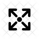 Maximize Arrow Maximize Expand Icon
