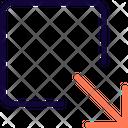Maximize Box Icon