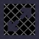 Maximize Extend Expand Icon