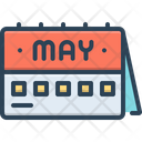 May Month Banner Icon