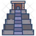 Maya Pyramid Pyramid Egpyt Icon